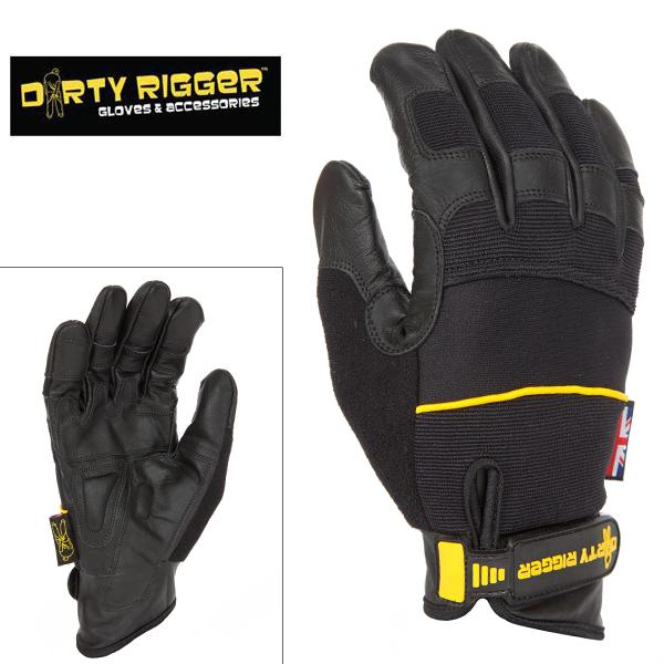 Перчатки Dirty Rigger, Leather Grip (Full Handed) в магазине RentaPhoto.Store