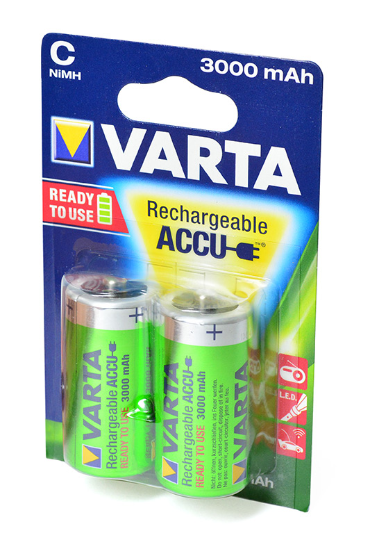 VARTA 56714 Ready2 Use 2C 3000mAh BL2 в магазине RentaPhoto.Store